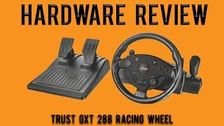 Hardware Review: Trust GXT 288 PC Racing Wheel