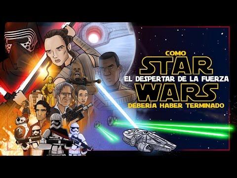 Como Star Wars El Despertar de la Fuerza Debería Haber Terminado
