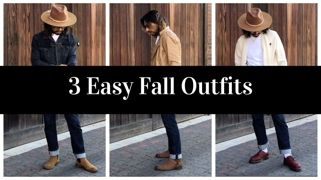[VIDEO] - 3 Easy Fall Outfits 6