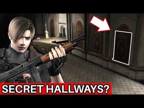 The Secret Hallways In Resident Evil 4's Crank Room