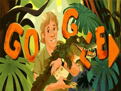 Google remembers 'Crocodile Hunter' Steve Irwin on his birthday with a Doodle