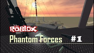 MY KD IS OP - Lets Play [ROBLOX] Phantom Forces #1