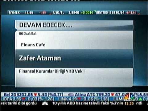 Zafer Ataman Cnbc-e Finans Cafe - 06.01.2015