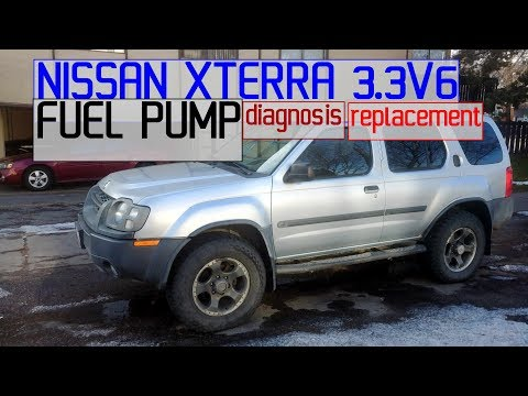 NISSAN XTERRA FUEL PUMP DIAGNOSIS, REPLACEMENT 3.3 V6 – COMPLETE DIY