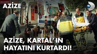 Azize, Kartal'ın hayatını kurtarıyor! - Azize 1. Bölüm