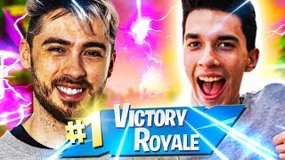 ¡REGALA LA PRIMERA VICTORIA ROYAL A UN BOY EXTRANJERO! FORTNITE ITA