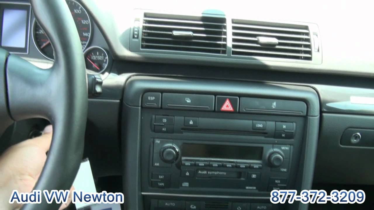 2005 audi a4 1.8t quattro sport sedan - youtube