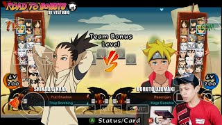 Dowload Di HP Android, Naruto Shippuden Ultimate Ninja Storm 4: Road To Boruto (Mod PPSSPP)