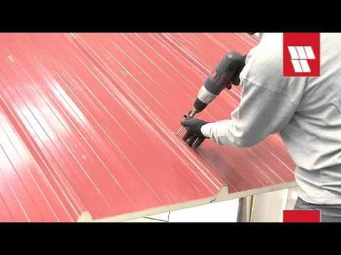 Italpannelli Video Instalacion Panel De Cubierta Ter