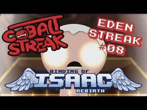 Isaac Rebirth: Eden Streak #8 - Cobalt R Wizard