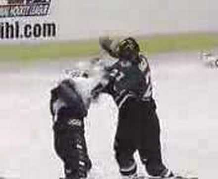 Best Hockey Fight Ever!
