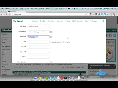 How to Create a SlashDot.org account for SEO - WebDesy.com