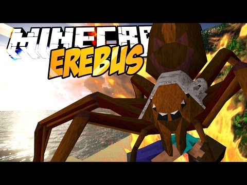 Minecraft mody! NOWY ŚWIAT I POTWORY | EREBUS MOD