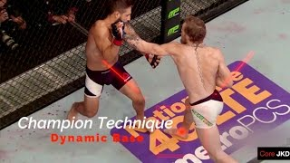 Conor McGregor's Winning Footwork - UFC Champion Technique - Core JKD
