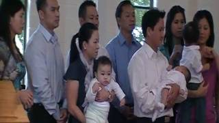 David Vo Baptism
