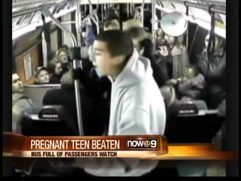 VIDEO: Pregnant teen attacked on Seattle bus
