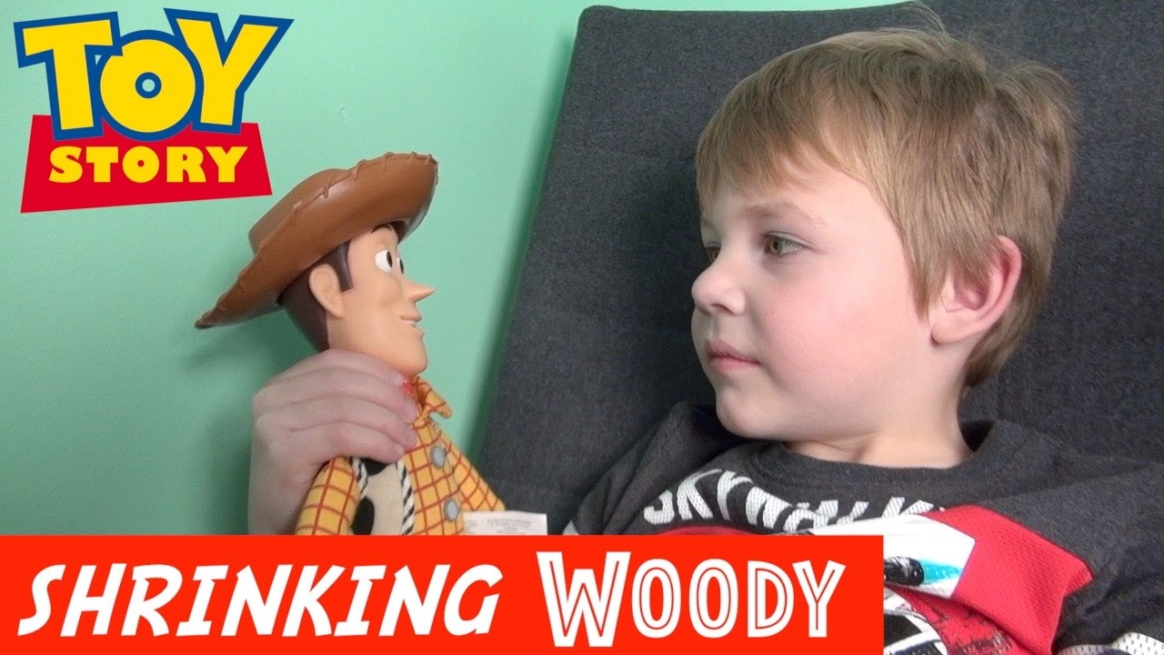 Toy Story 4: Incredible Shrinking Woody! – Buzz Lightyear | Doc Brown | Disney Pixar