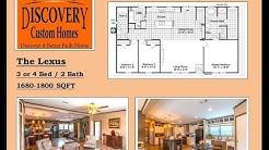 Lexus 3/4 bed 2 Bath Custom Mobile Modular Homes In Pearsall TX