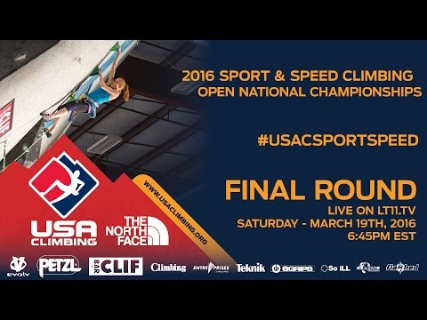 Sport & Speed National Championships • Finals • 3/19/16 • 6:45PM EDT