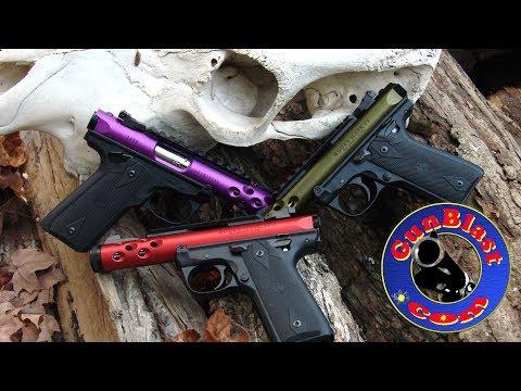 "Shooting Davidson's EXCLUSIVE Ruger Mark IV 22/45 Lite 4.4"" Threaded 22 Pistol - Gunblast.com"