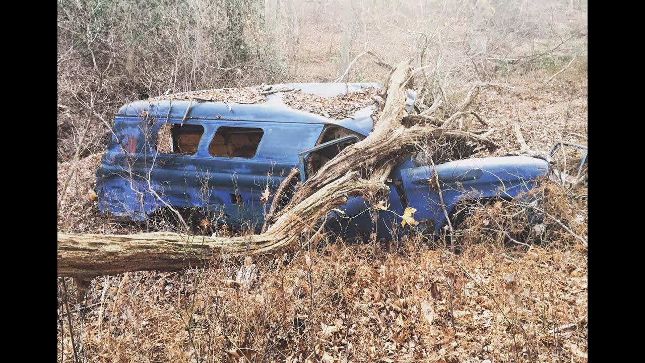 Abandoned 1955 Chevrolet Suburban Window Panel Truck Van ...