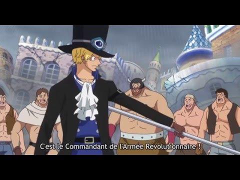 Sabo sauve Luffy. One Piece 729 [HD] Vostfr