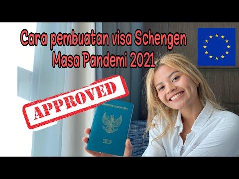 Syarat Pembuatan  visa Schengen, dan cara pembuatan Visa Eropa tanpa agent