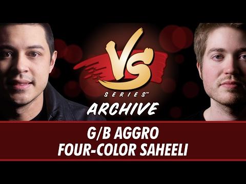 2/2/2017 - Tom VS. Majors: G/B Aggro vs Four-Color Saheeli [Standard]