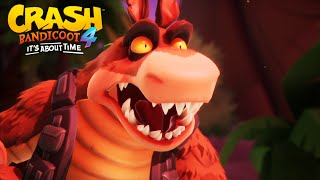 Crash Bandicoot 4: It's About Time - ALL Dingodile Cutscenes HD
