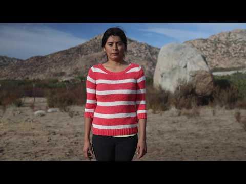 Lucero Alicia Islaba Meza, Concejala kumiai. Comunidad Juntas de Nejí, Baja California