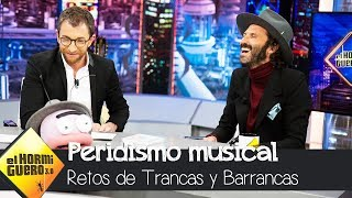 Leiva juega al test de la estrella del rock and roll con Trancas y Barrancas - El Hormiguero 3.0