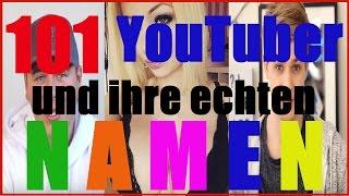 100 YouTuber und ihre echten Namen   N3KLAZ