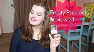Empty Products #1 | LiddieLoo Thumbnail