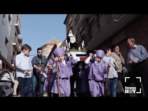 VÍDEO. Nuestro recuerdo al desfile de procesiones infantiles Pasión y Gloria Infantil de Lucena