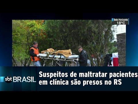 Suspeitos de maltratar pacientes em clínica de reabilitação são presos no RS | SBT Brasil (31/07/18)