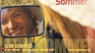 """Leon Sommer """"Lass uns wie ein Wunder sein"""""""