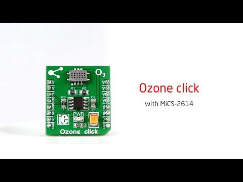 Ozone click – board with MiCS-2641 Ozone gas sensor