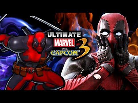 DEADPOOL NEVER DIES! Ultimate Marvel Vs. Capcom 3 - Online Matches