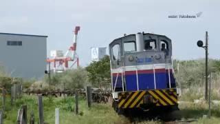 鹿島臨海鉄道 鹿島スタジアム-神栖 KRD64貨物列車
