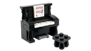 LEGO DIY Інструкція Фортепіано з лего