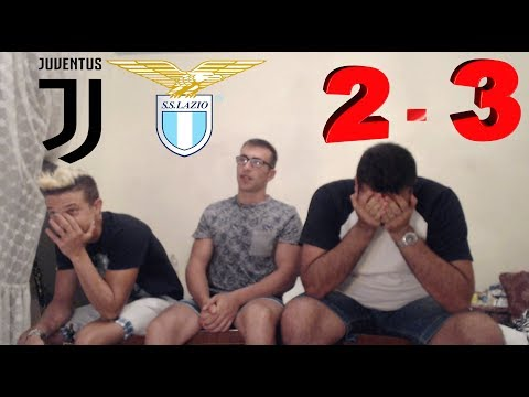 Juventus-Lazio 2-3 Gli Highlights e reaction di uno Juventino - Supercoppa Italiana 2017