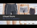 9 Board Shorts By Free Country Amazon Fashion, Spring 2017