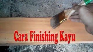 Cara Finishing Kayu Untuk Mebel / Furniture Menggunakan Politure Mowilex