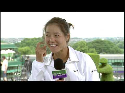 Li Na visits the Live @ Wimbledon studio