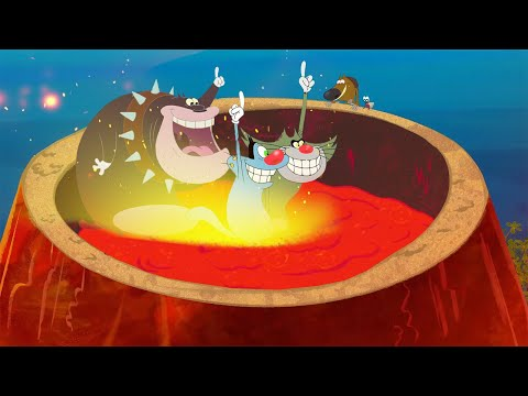 Oggy Et Les Cafards - Zig & Sharko 🌋 Le Volcan 🌋 Episodes Complets En HD