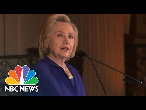 Clinton Blasts Trump Immigration Policy: Family Separation 'An Affront To Our Values' | NBC News