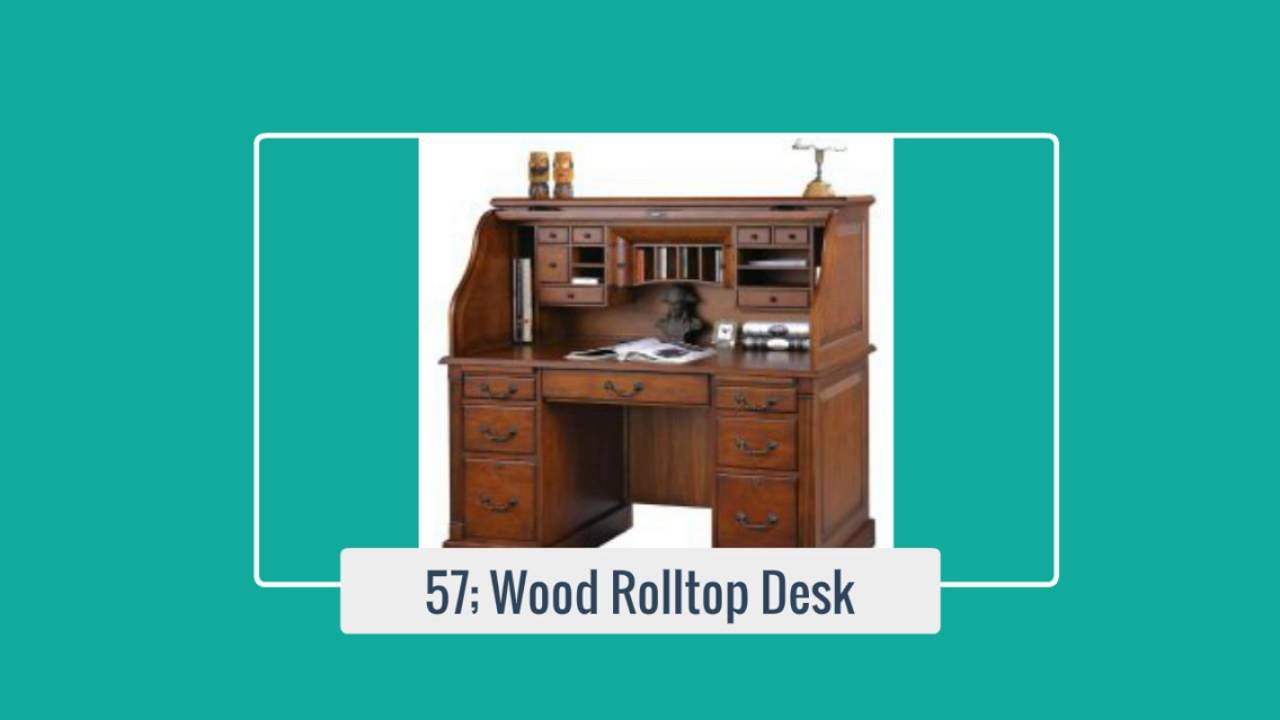 Popular Roll Top Desks From Ashley Furniture And Wilshire