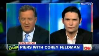Corey Feldman Full Piers Morgan Interview   28 October 2013