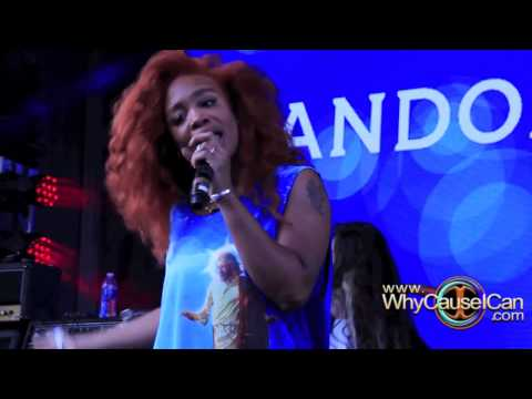 SZA Performs Babylon On Pandora Stage At SXSW