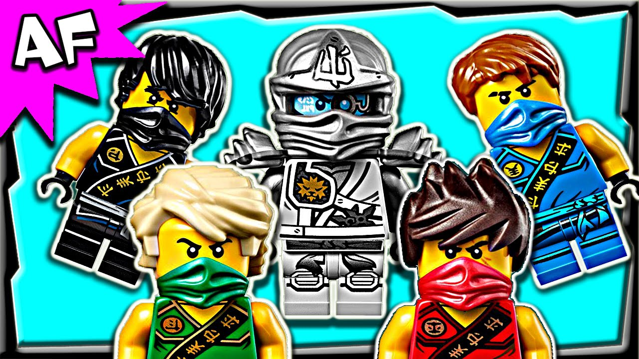 Lego Ninjago Minifigures 2015 Zukin & Tournament Outfits ...